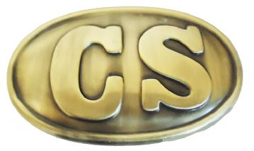 CS Confederate Enlisted Man's Belt Buckle